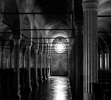 Eternal Light BW  by Andrea Mazzocchetti