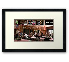 "My ""gig"", in FrenchsForest- the Neerlandia Club.  Framed Print"