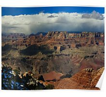 Storm On The South Rim Poster
