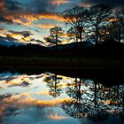A wonderful end to the day at the river Brathay by Shaun Whiteman