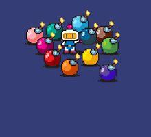 Bomberman Rainbow Bomb Set pixel art by PXLFLX T-Shirt
