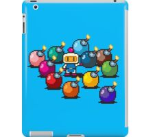 Bomberman Rainbow Bomb Set pixel art by PXLFLX iPad Case/Skin