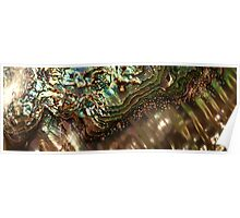 Treasures Await in a Jeweled Sea Poster