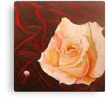Pearl Rose Canvas Print