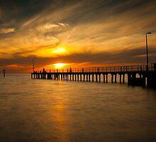 St Kilda Pier by Ian Stevenson