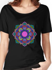 """ॐ """"OM"""" Women's Relaxed Fit T-Shirt"""