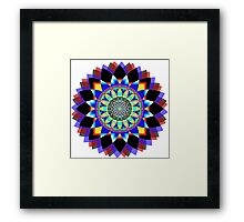 Flower of Life Yantra Framed Print