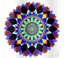Flower of Life Yantra Poster