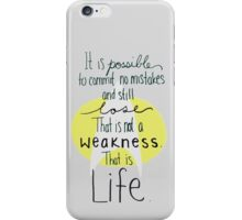 This is Life. (Gray) iPhone Case/Skin