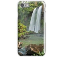 Exotic double waterfall iPhone Case/Skin