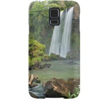 Exotic double waterfall Samsung Galaxy Case/Skin