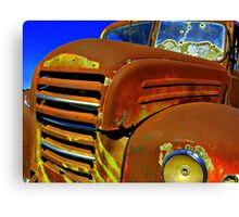 Red Bullet.... Canvas Print