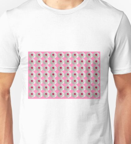 Rosy Cupcakes Unisex T-Shirt
