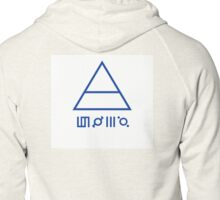 30 Seconds to Mars Zipped Hoodie