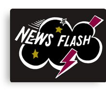 News Flash Logo-1  Canvas Print