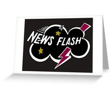 News Flash Logo-1  Greeting Card