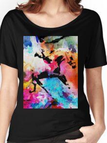 Run away Women's Relaxed Fit T-Shirt