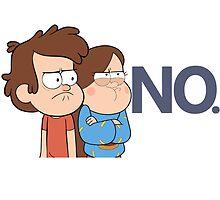 Gravity Falls - NO. by Savannah Hynes