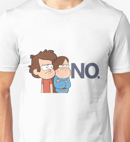 Gravity Falls - NO. Unisex T-Shirt