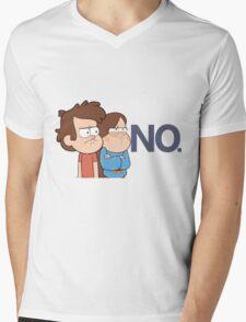 Gravity Falls - NO. Mens V-Neck T-Shirt