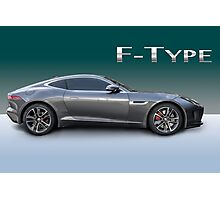 Jaguar F Type Photographic Print