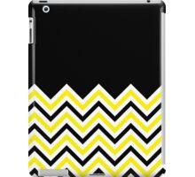Black & Yellow Chevrons iPad Case/Skin