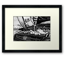 Wise Framed Print