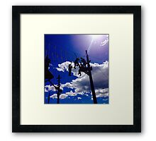 Cloud High  Framed Print