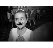 Mustache You A Question.. Photographic Print