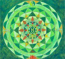 Stier horoscoop mandala by Renate van Nijen