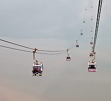 Ngong Ping Cable Car by JourneyPhotos