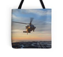 MH-60S Seahawk Helicopter Tote Bag
