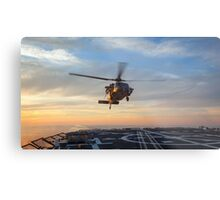 MH-60S Seahawk Helicopter Metal Print