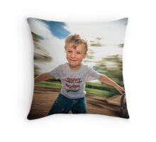 ...spinning around... Throw Pillow