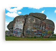 Thunderbolts Rock, Uralla, NSW Canvas Print