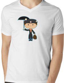 The Nanny Mens V-Neck T-Shirt