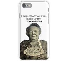 Eat Oppressor Flesh iPhone Case/Skin