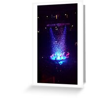 Arcade Fire @ Earl's Court Greeting Card