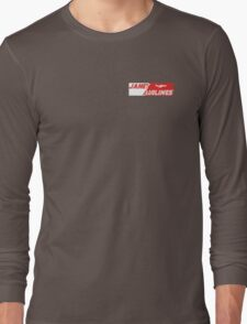 Janet AirLines , Area 51 transport Long Sleeve T-Shirt