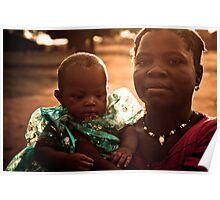 Proud African Mama Poster