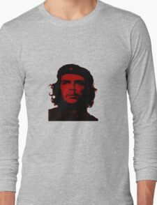 Che Guevara ( Red tint) Long Sleeve T-Shirt