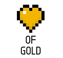 Heart of Gold by ninjaliv