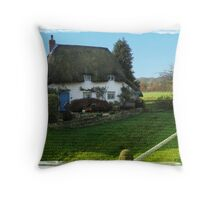 Rural Cottage Throw Pillow