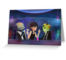 Mass Effect - Tuxedo Night [Commission] Greeting Card