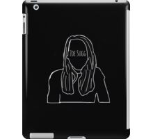Zoella Outline iPad Case/Skin