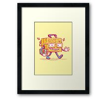 Back to School LunchPail Bot Framed Print
