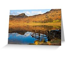 The Fence - Blea Tarn Greeting Card