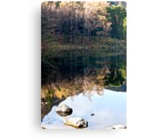 Reflections at Blea Tarn Canvas Print
