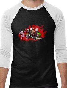 Courage the sensible dog Men's Baseball ¾ T-Shirt
