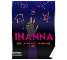 Inanna: Love And Warfare Print Poster